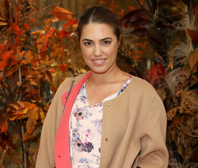 Halfpenny Bridal VIP breakfast event Guest Amber Le Bon