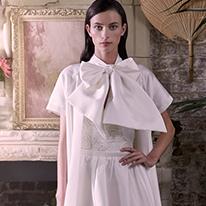 Halfpenny Bridal dresses in crisp white
