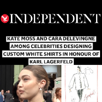 Karl Lagerfeld and The Independent