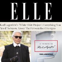 Karl Lagerfeld and Elle